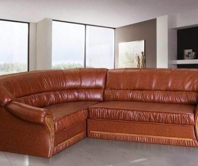 Doris ággyá nyitható kanapé barna
