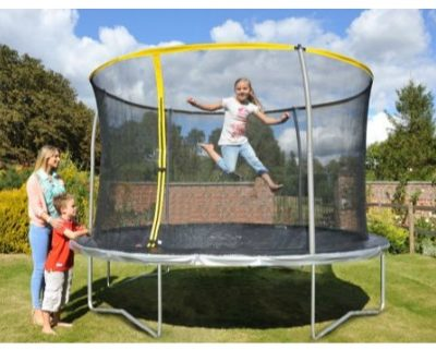 trambulin védőhálóval 305 cm