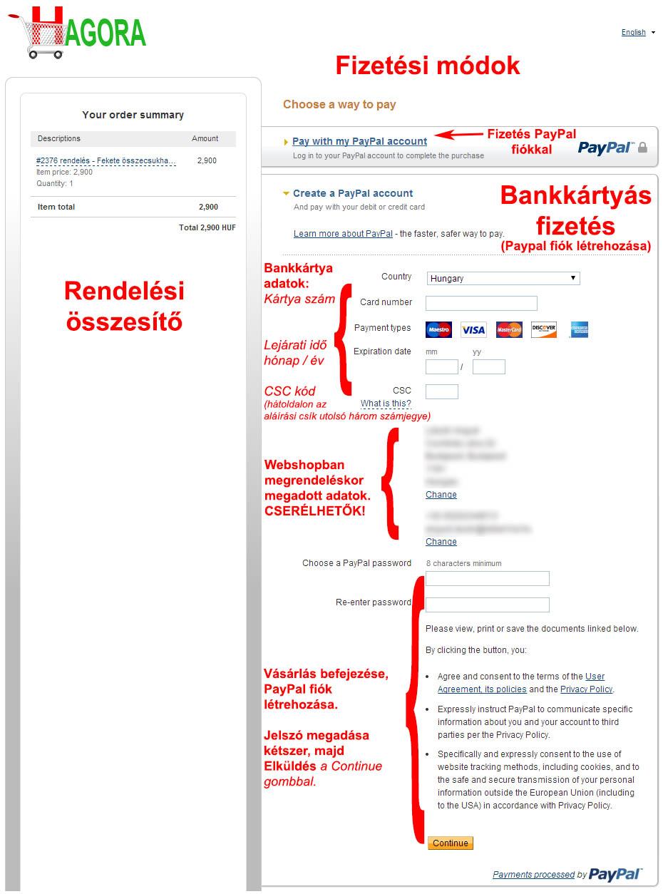 PayPal fizetes2