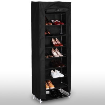 Hagora vászon cipős szekrény fekete