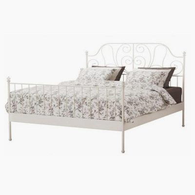 Behemoth fém ágykeret fehér