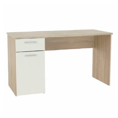 Egon íróasztal sonoma-fehér 1
