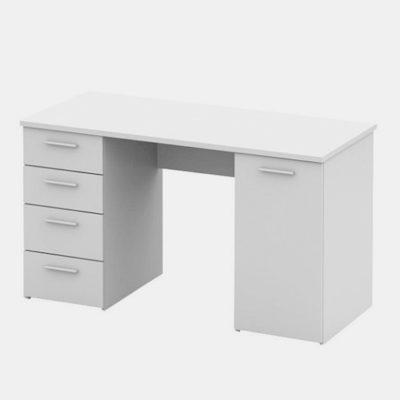 Eustach íróasztal fehér 1
