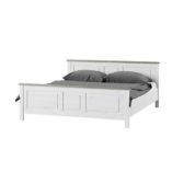 Liona ágykeret fehér-szürke
