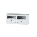 Liona Tv szekrény fehér-szürke
