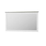 Liona fali tükör fehér-szürke