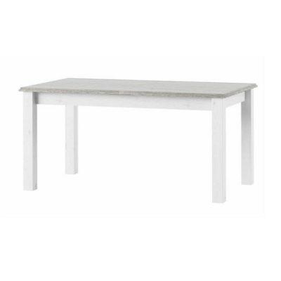 Liona nyitható étkezőasztal fehér-szürke