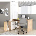 Noe sarok íróasztal fehér