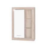 Stilo fali szekrény sonoma tölgy-fehér
