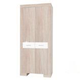 Stilo szekrény sonoma tölgy-fehér