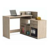 Vista sarok íróasztal sonoma tölgy