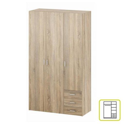 Gwen akasztós szekrény