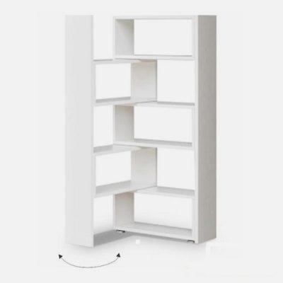 Kloe-könyvespolc fehér