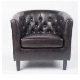 Maron fotel
