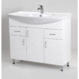 Standard 100 fürdőszoba szekrény mosdóval