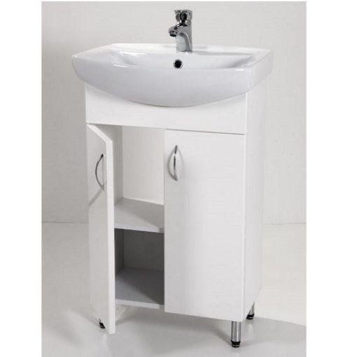 Standard 65 fürdőszoba szekrény mosdóval