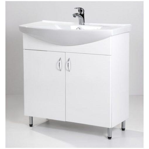 Standard 85 fürdőszoba szekrény mosdóval