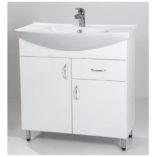 Standard 85F fürdőszoba szekrény mosdóval