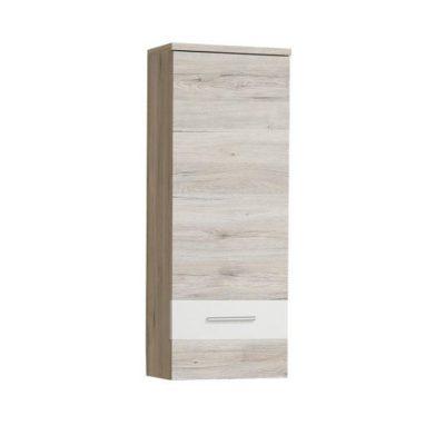 Valeria fali szekrény Homok tölgy-fehér