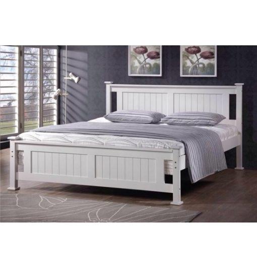 Lucas ágykeret fehér