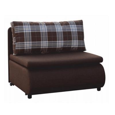 Keny fotelágy barna -kocka