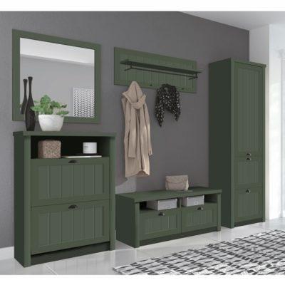 Provence előszobabútor zöld