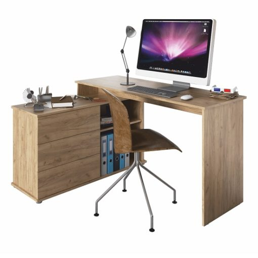 Terino sarok íróasztal artisan 2