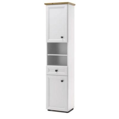 Toskana fürdőszoba álló szekrény fehér