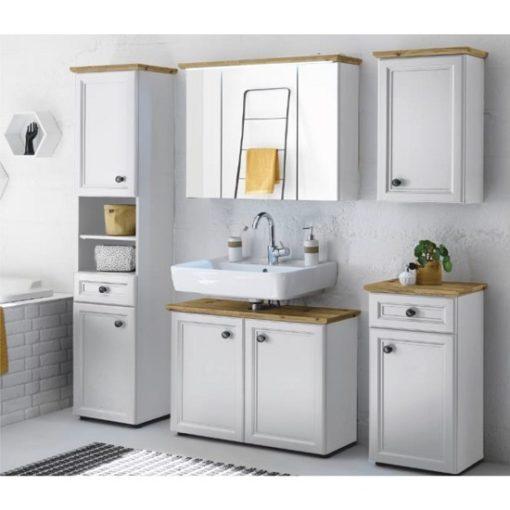 Toskana fürdőszoba fehér-artisan