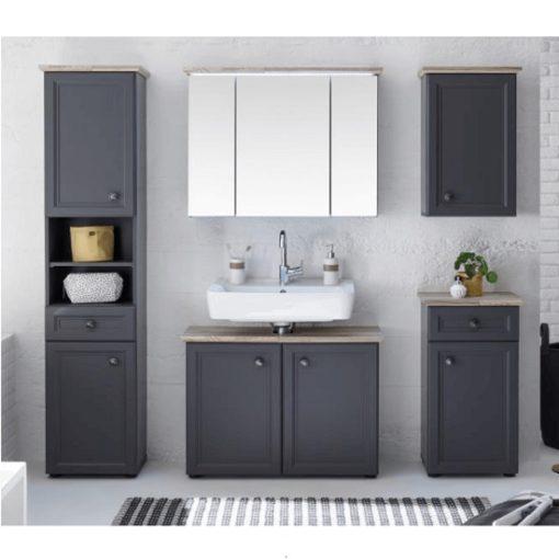 Toskana fürdőszoba szürke