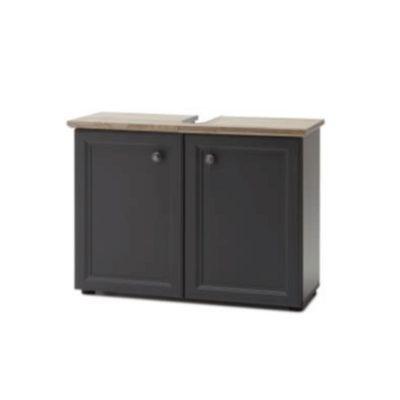 Toskana mosdó alatti szekrény szürke 1