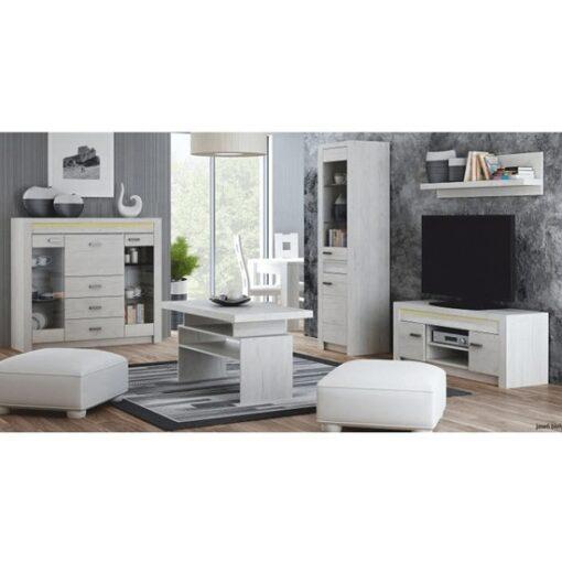 Infinity fehér kőris bútorcsalád
